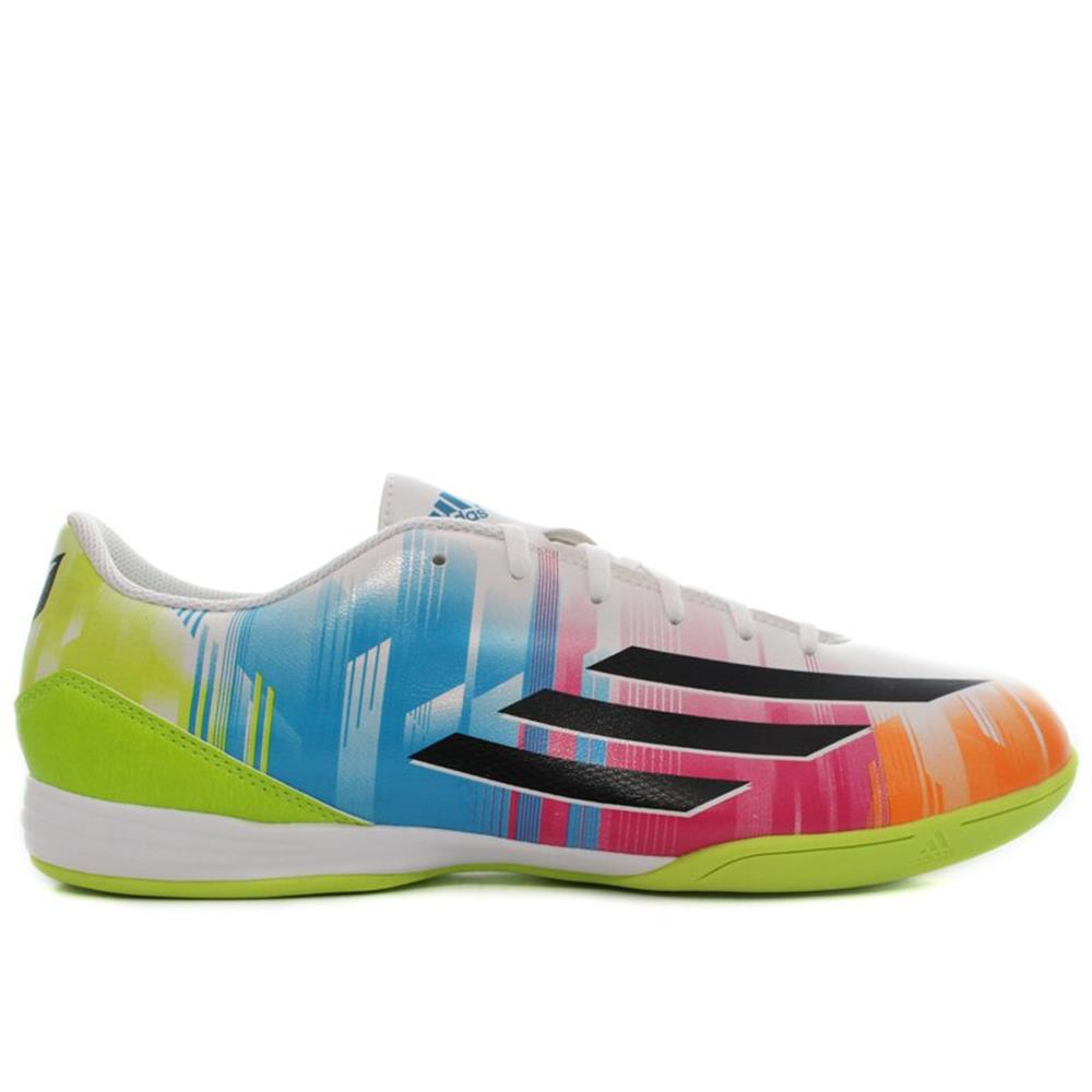 new arrival d5a99 aa82d ... Adidas F10 IN Messi F32677 blue halfshoes