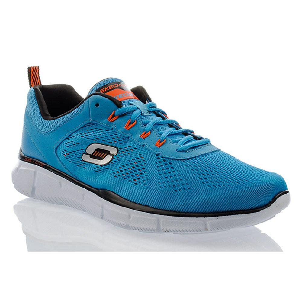 Skechers DEAL MAKER 51358 BLOR Blu halfScarpe