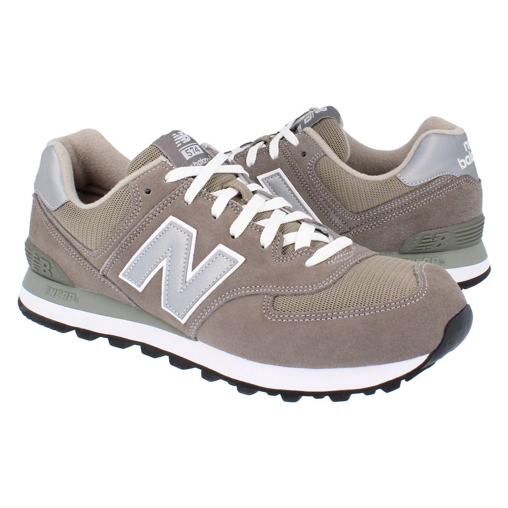 New Balance M574GS M574GS grigio scarpe basse