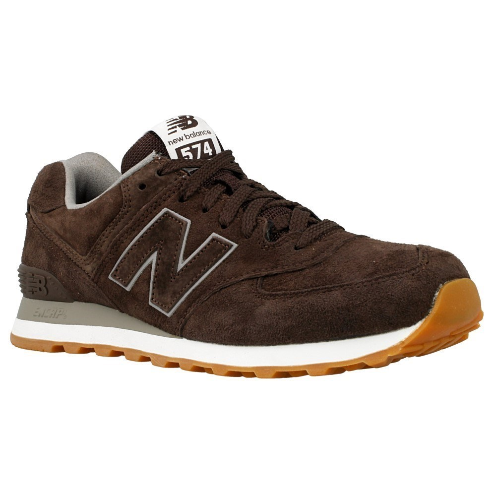 New Balance ML574FSB ML574FSB marrone scarpe basse