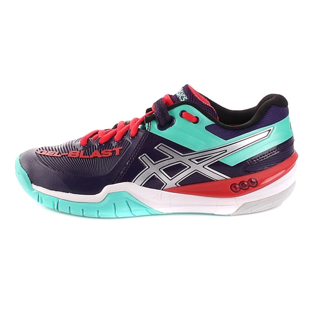 Asics Gelgamepoint Womens 4920 E459L4920 blu marino scarpe basse