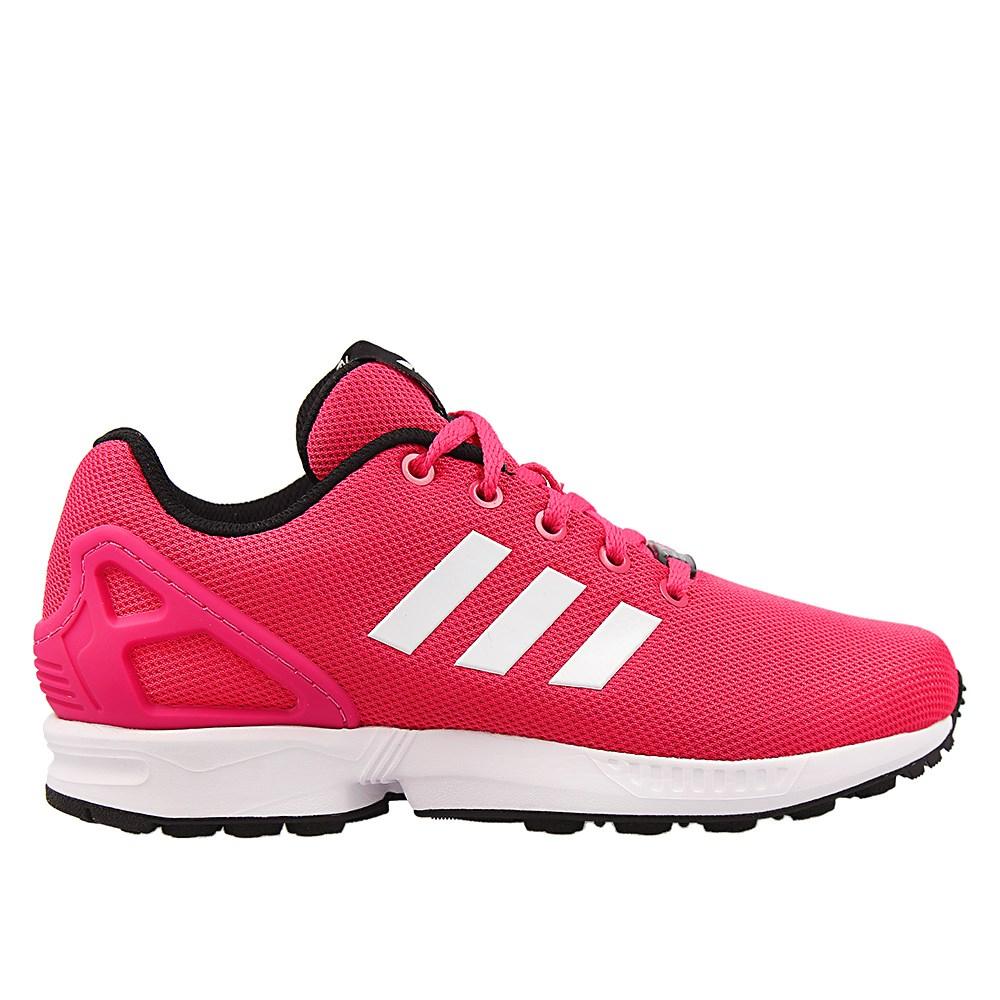 adidas zx flux k rosa