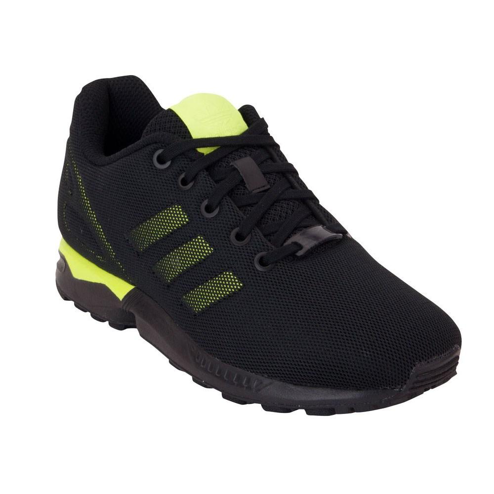 buy online f9105 084b6 ... best price adidas zx flux k s74953 black halfshoes 42196 91678