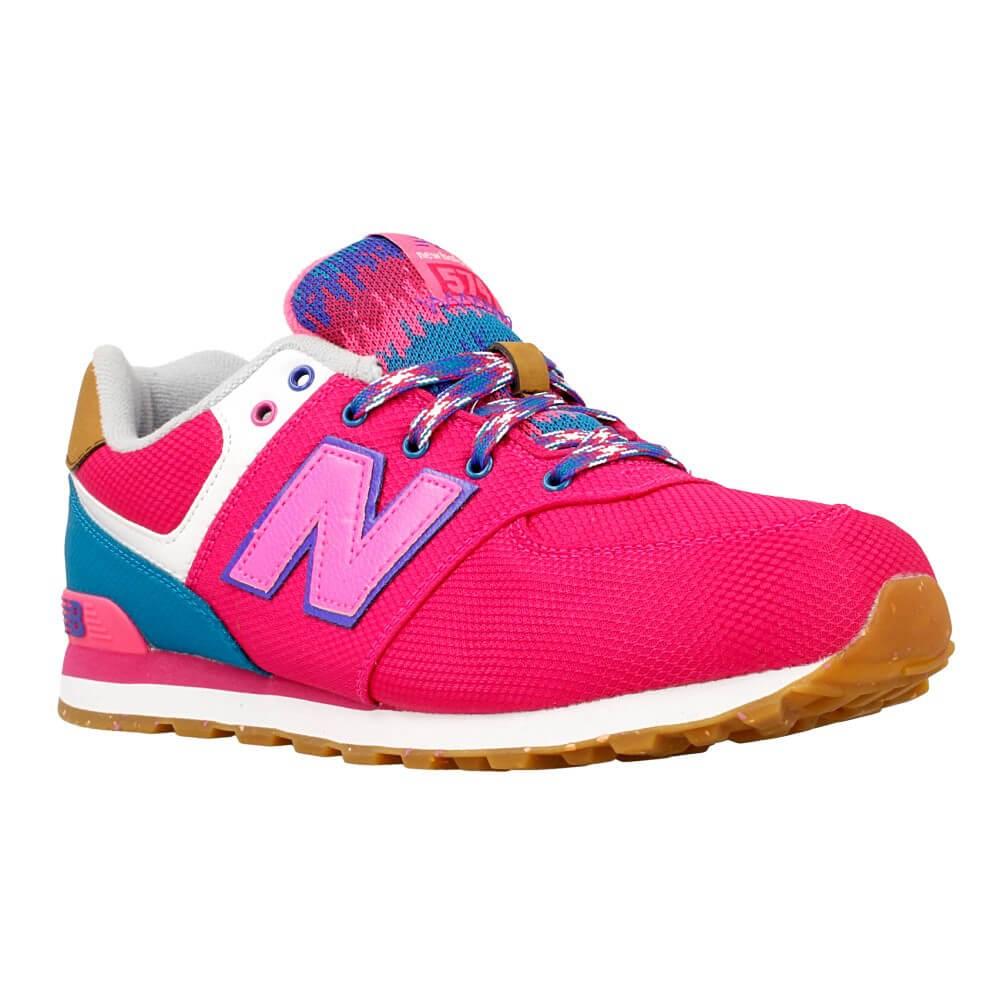 New Balance KL574T4G KL574T4G azzuro scarpe basse