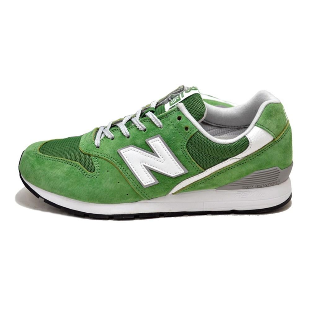 online retailer 71753 47e82 New Balance 996 WR996MO verde scarpe basse