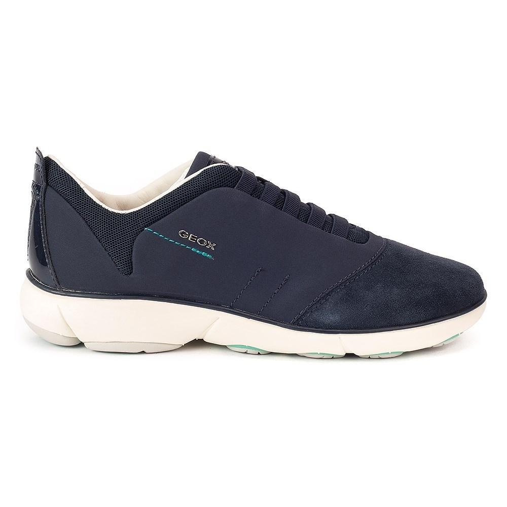 Geox Nebula Woman D621EC01122C4002 blu marino scarpe basse