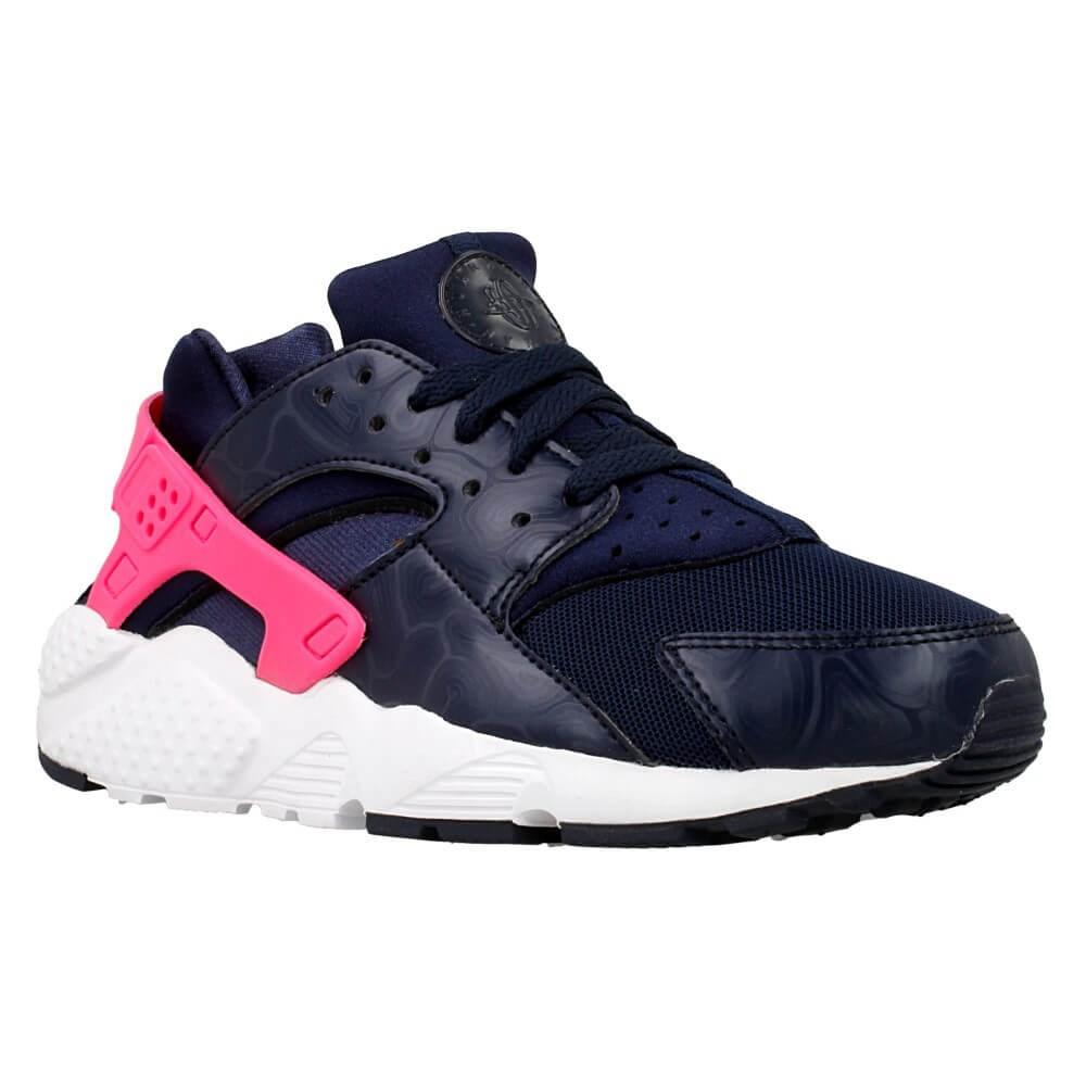Nike Huarache Run GS 654280406 navy blue halfshoes