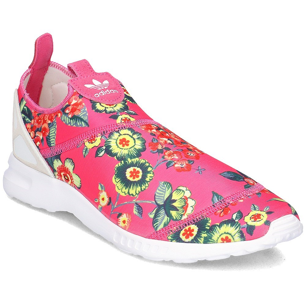 Details about Adidas ZX Flux Smooth Slip ON S78960 pink halfshoes