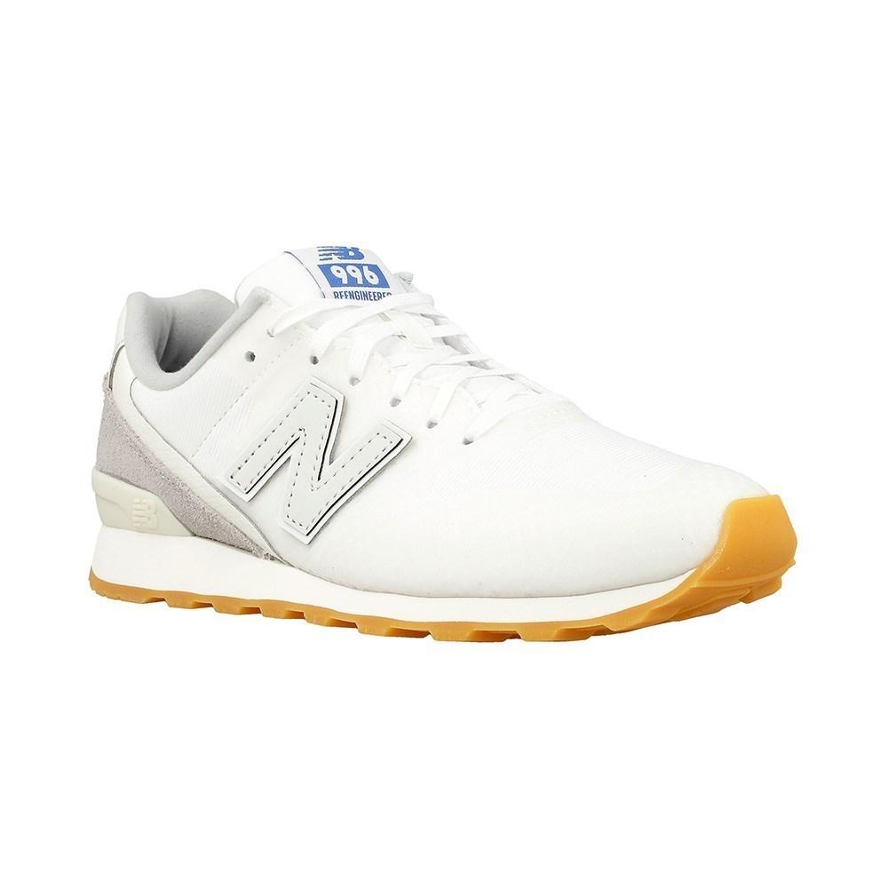 New Balance D 06 WR996WA crema scarpe basse