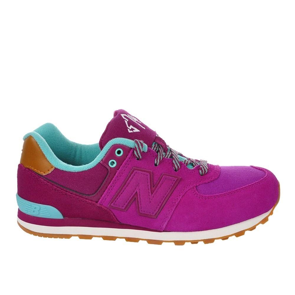 New Balance KL574NFG KL574NFG rosa scarpe basse