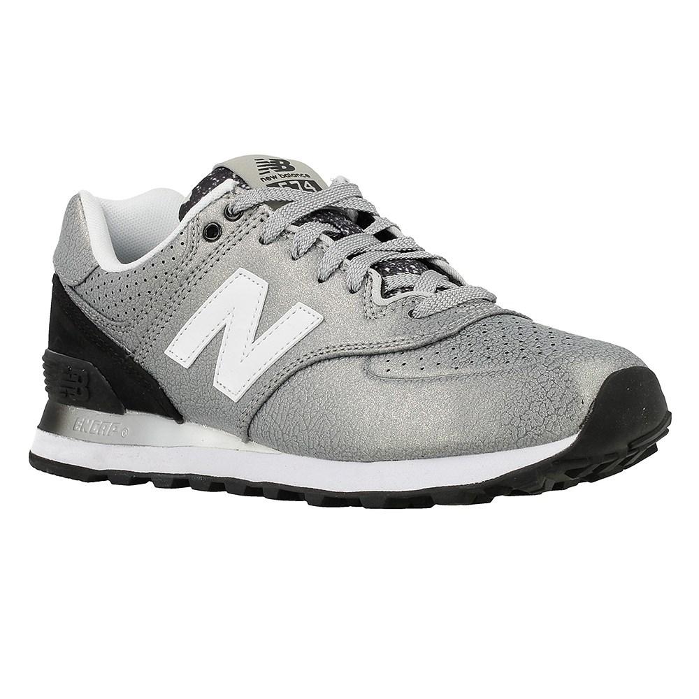 New Balance B 10 WL574RAC argento scarpe basse