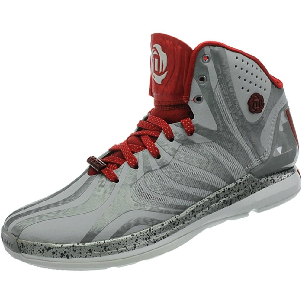 Details zu Adidas D Rose 45 G98339 grau high top schuhe