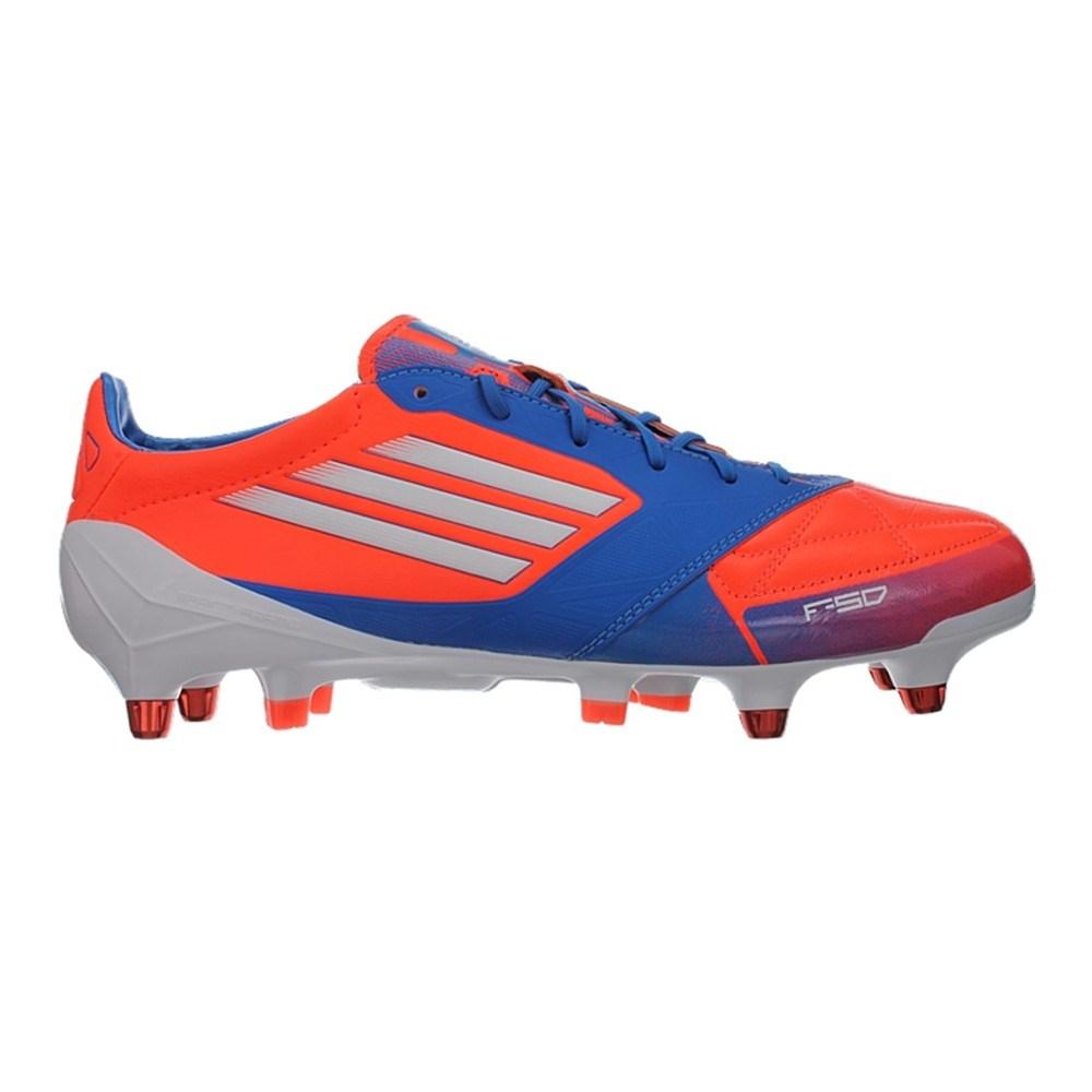 b675a8e18 Adidas F50 Adizero Xtrx SG Leder V21449 blue halfshoes