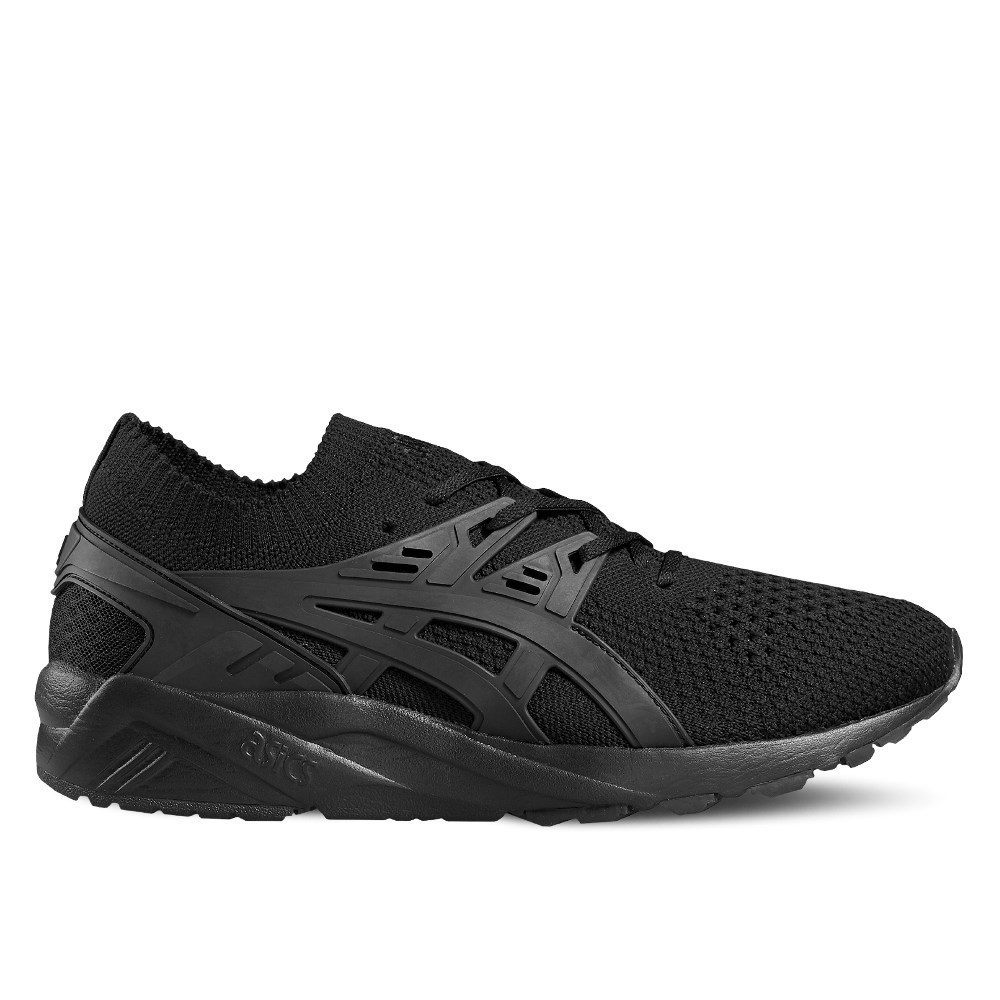 Asics Gelkayano Trainer Knit H705N9090 nero scarpe basse