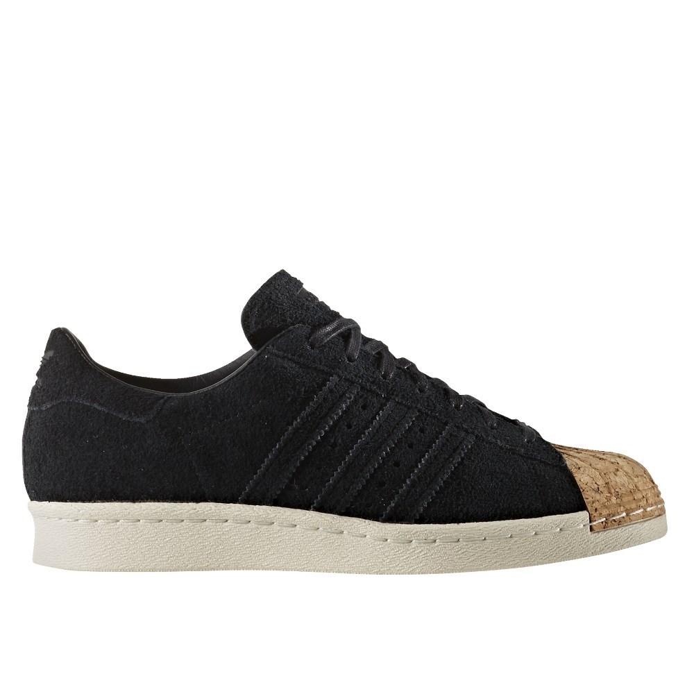 Adidas Adidas Adidas Superstar 80S Cork Cblackcblackowhite BY2963 black halfshoes 38b78e