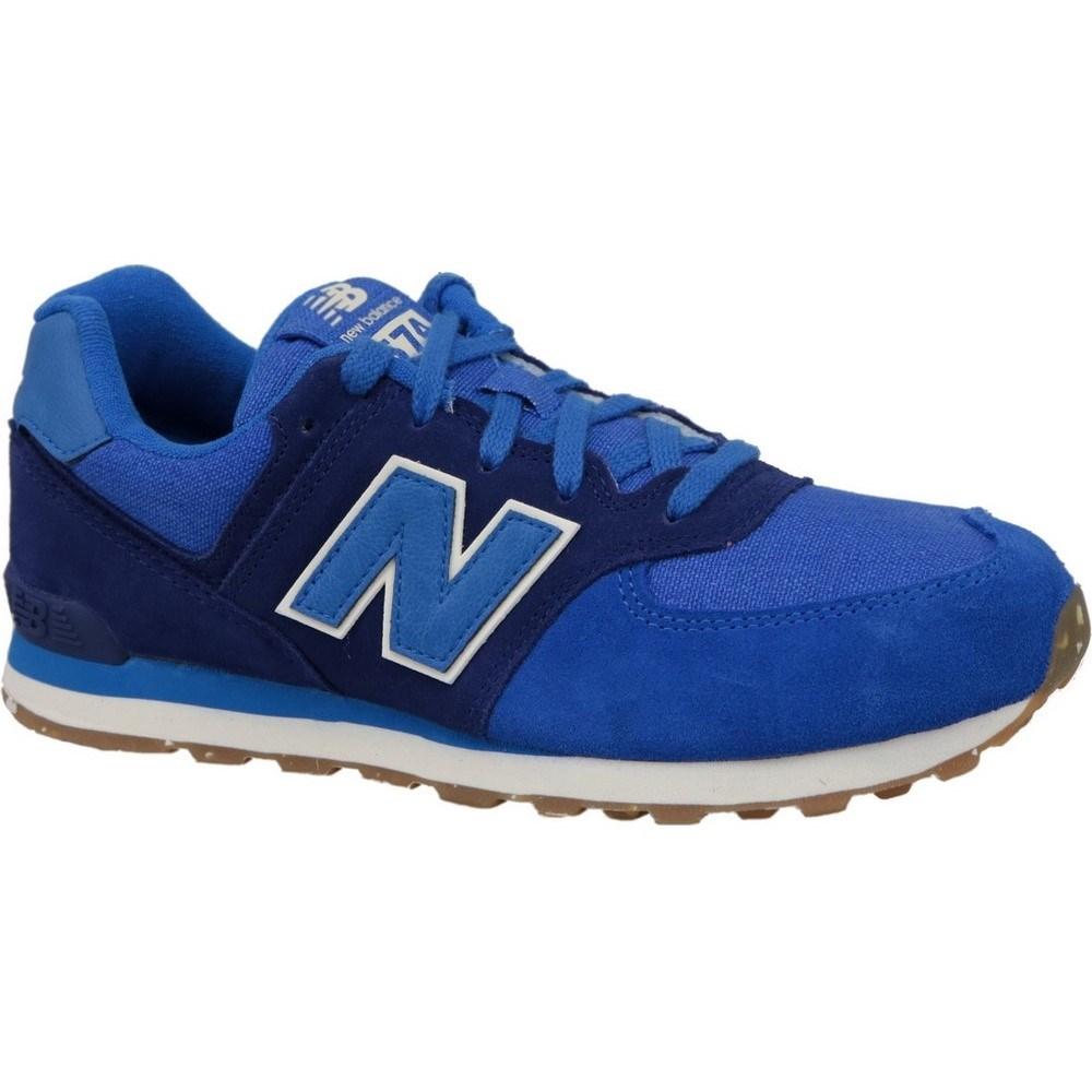 New Balance KL574ESG KL574ESG azzuro scarpe basse