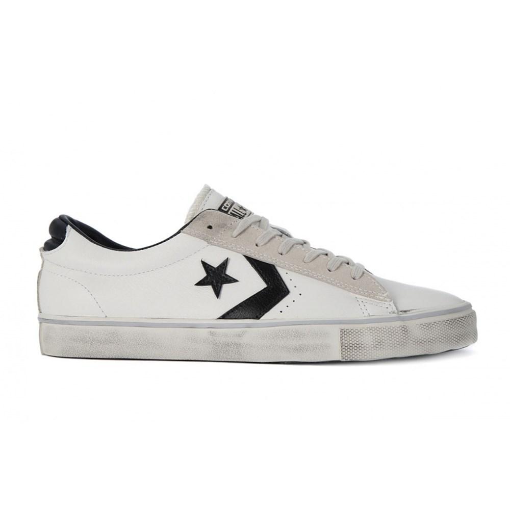 Converse Pro Leather Vulc OX 156741C bianco scarpe da ginnastica