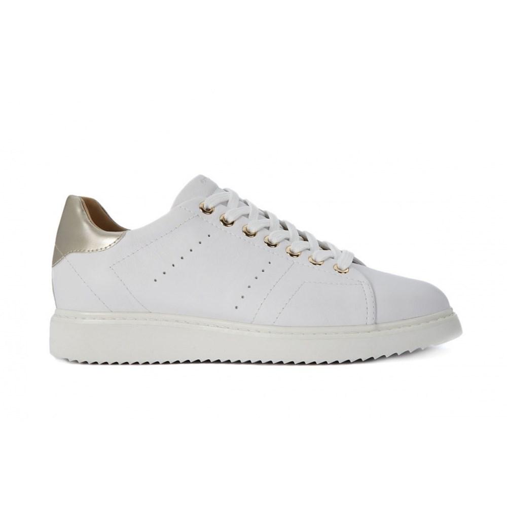 Geox Thymar D724BA00085C1001 bianco scarpe basse