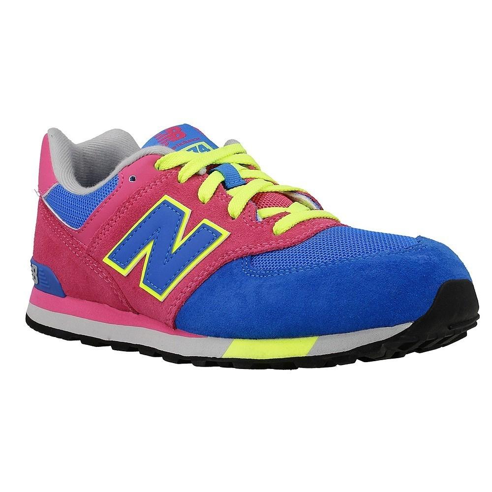 New Balance NBKL574WAGM KL574WAG azzuro scarpe basse