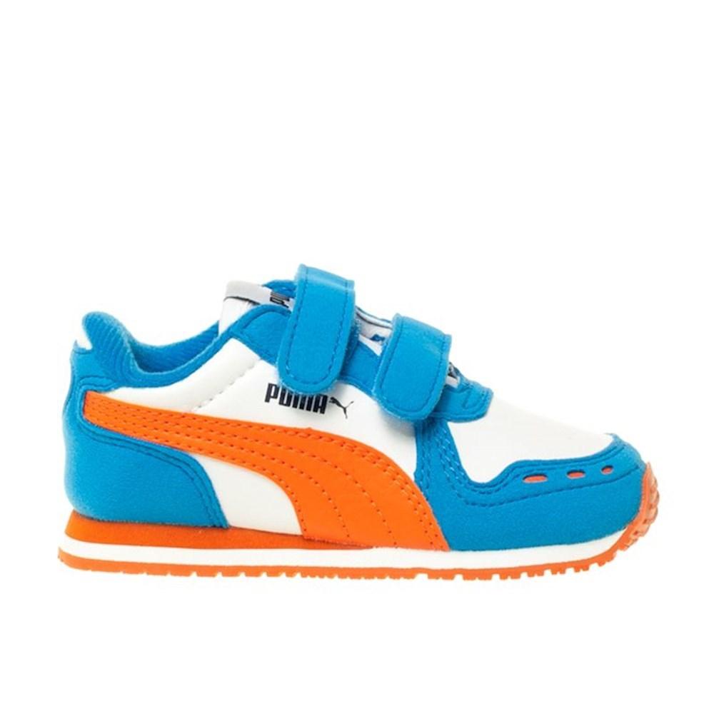 Puma Cabana Racer SL JR 35197948 arancione scarpe basse