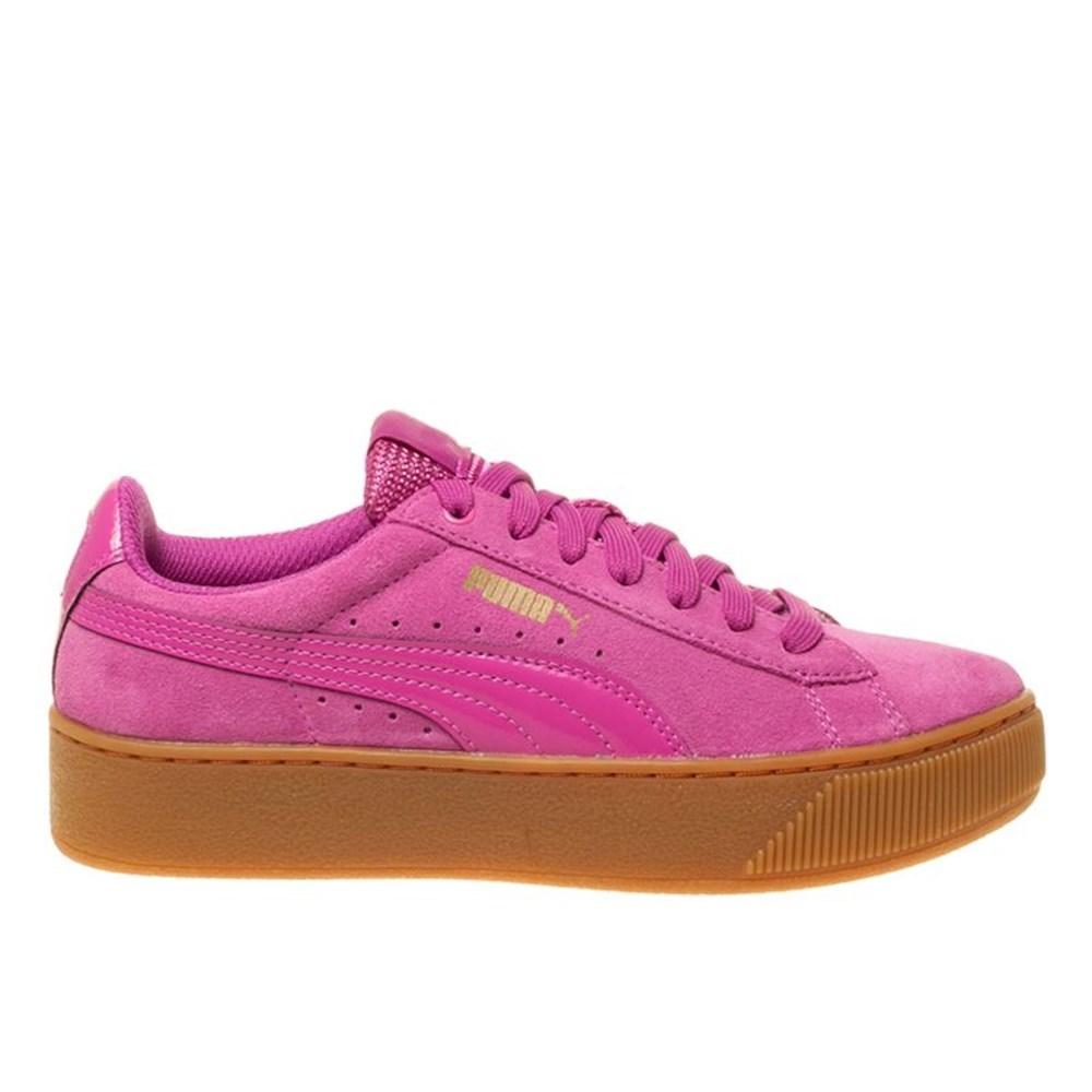 Puma Vikky Platform 36328704 rosa scarpe basse