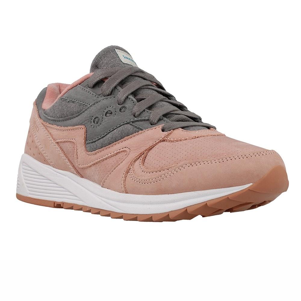 Saucony Grid 8000 Salcha S703033 grigio scarpe basse