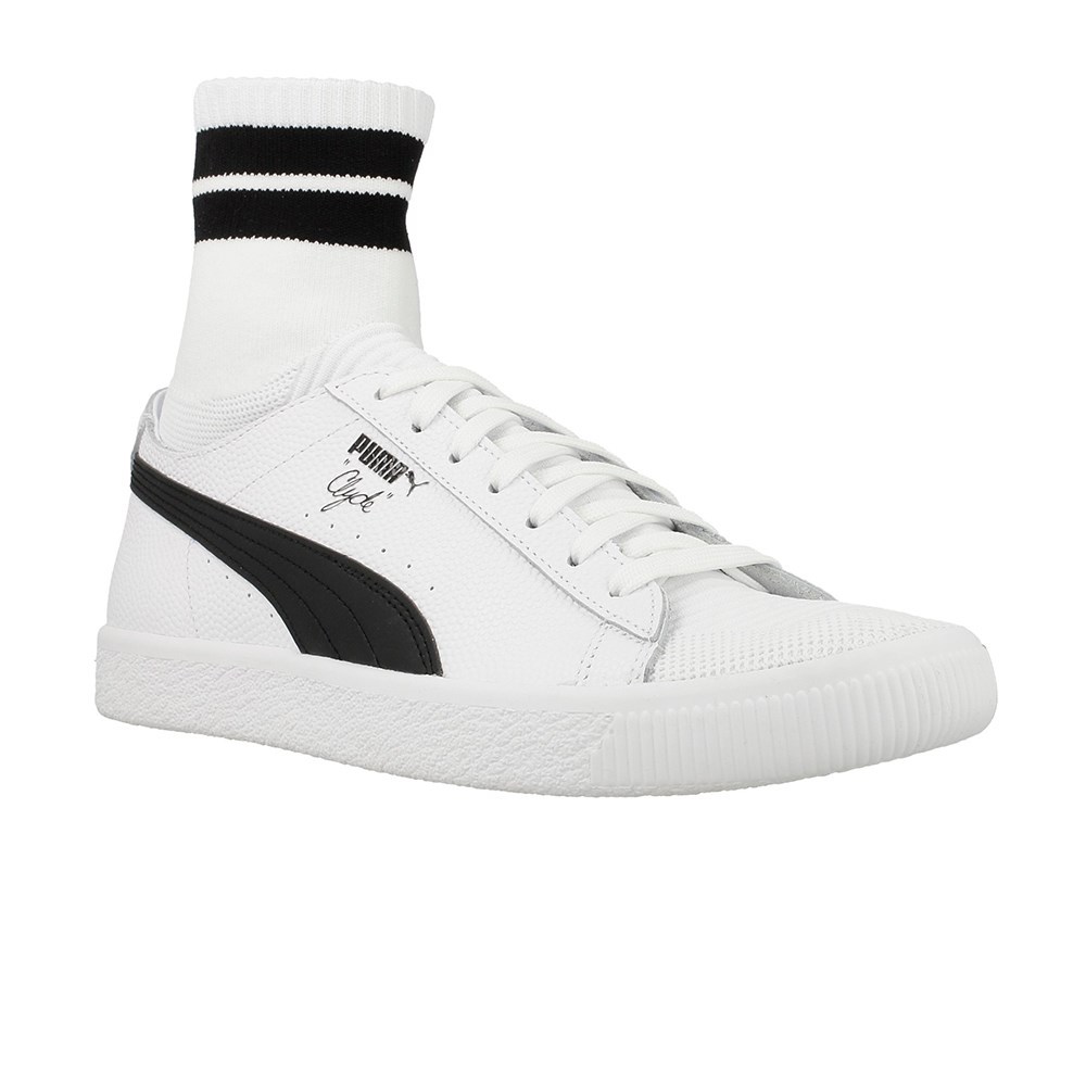 Puma Clyde Sock Nyc Whit 36494802 bianco stivaletti