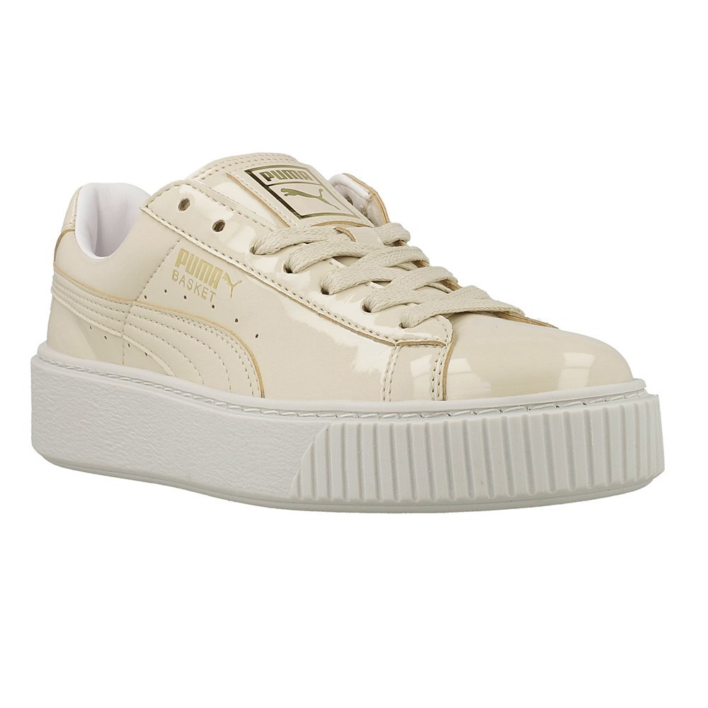 Puma Basket Platform Patent W 36331402 bianco lunghezza caviglia