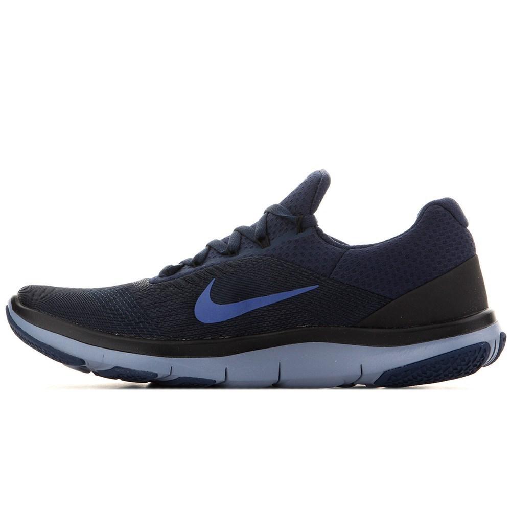 Nike Free Trainer V7 898053401 black halfshoes