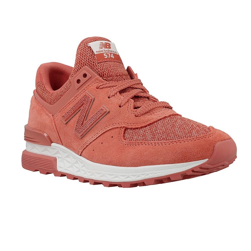 New Balance NBWS574CRB070 WS574CR rosa scarpe basse