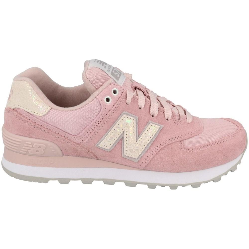 New Balance WL574CIC WL574CIC rosa scarpe basse
