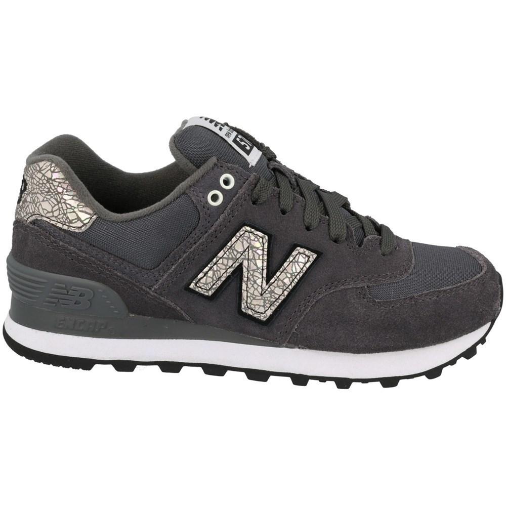 New Balance WL574CID WL574CID grigio scarpe basse