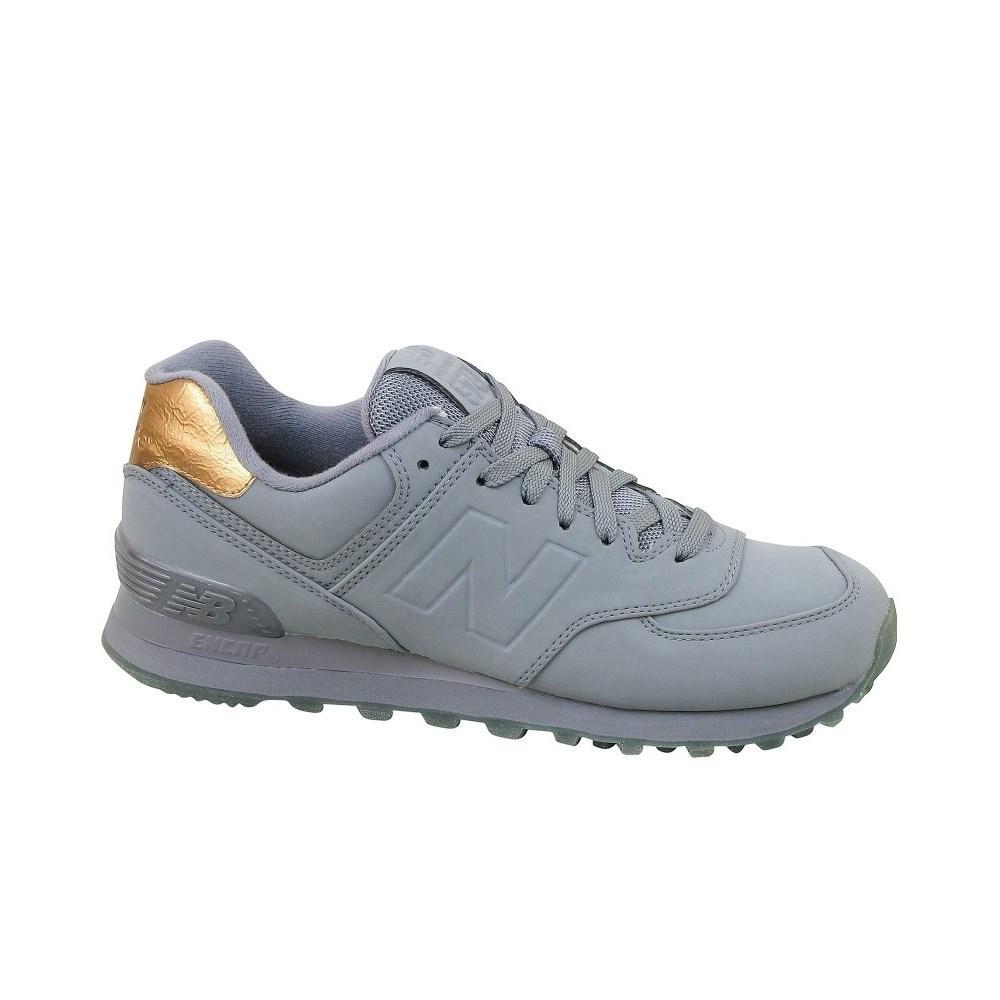 New Balance WL574MTA WL574MTA grigio scarpe basse