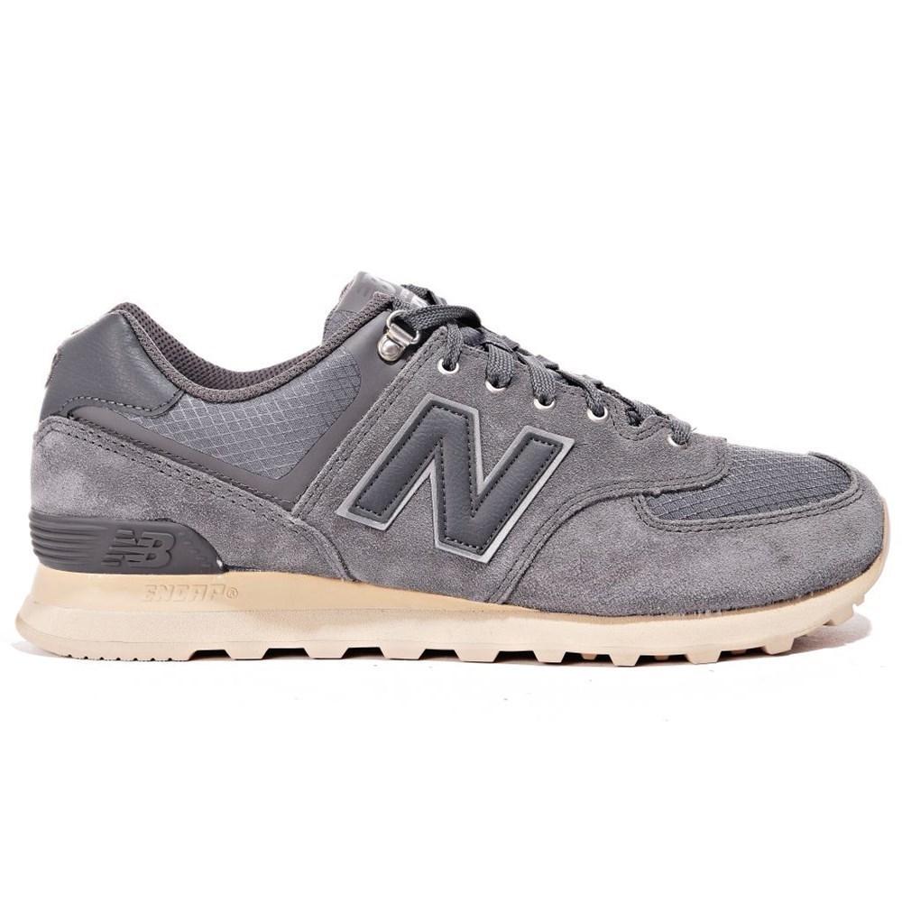 New Balance ML574PKQ ML574PKQ grigio scarpe basse