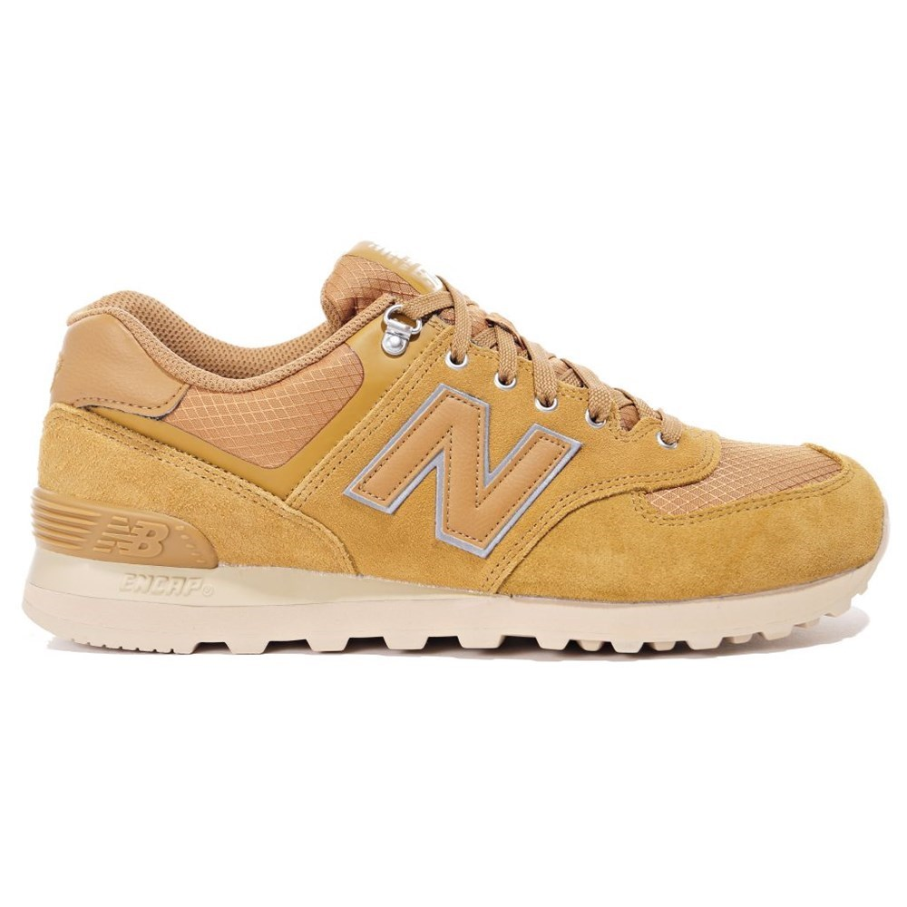 New Balance ML574PKR ML574PKR marrone scarpe basse