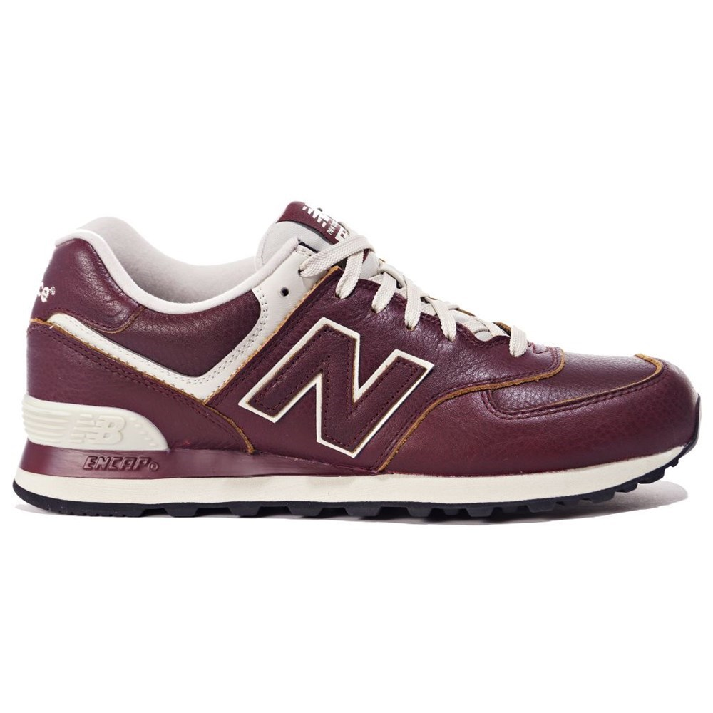 New Balance ML574LUD ML574LUD bordeaux scarpe basse