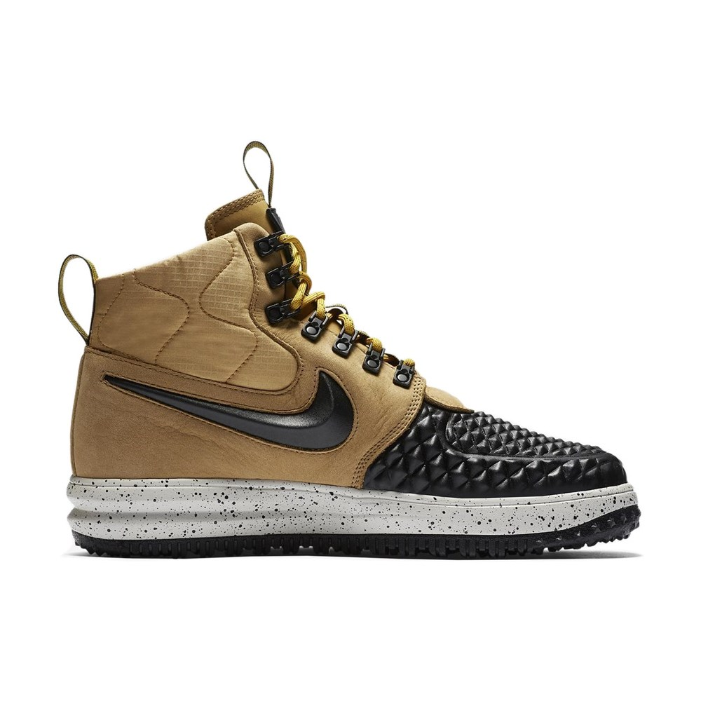 Nike Lunar Force 1 Duckboot 17 Gold Black 916682 701 916682701 beige