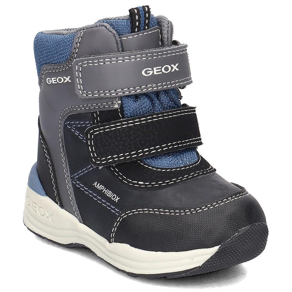 Geox Baby New Gulp Boy Abx B741GA054FUC4303 azzuro scarponi da neve