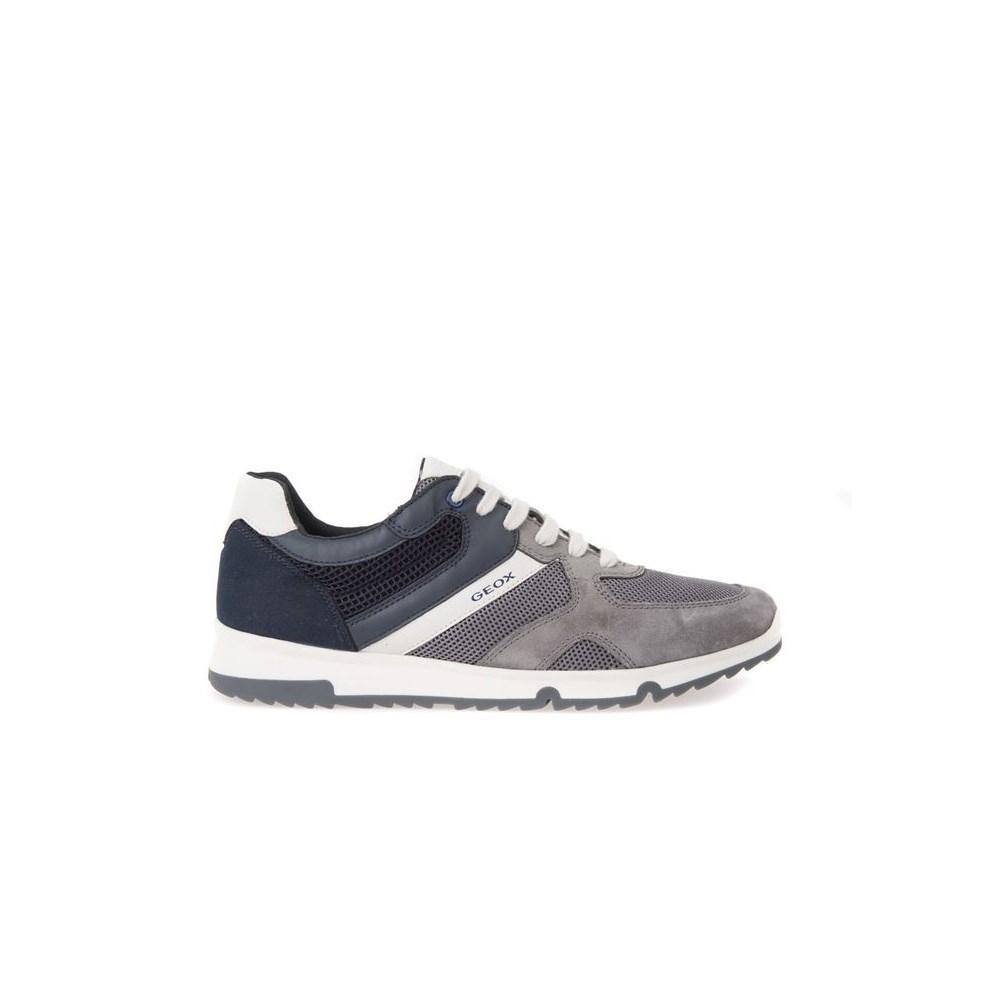 Geox Wilmer U823XA01422C4002 grigio scarpe basse