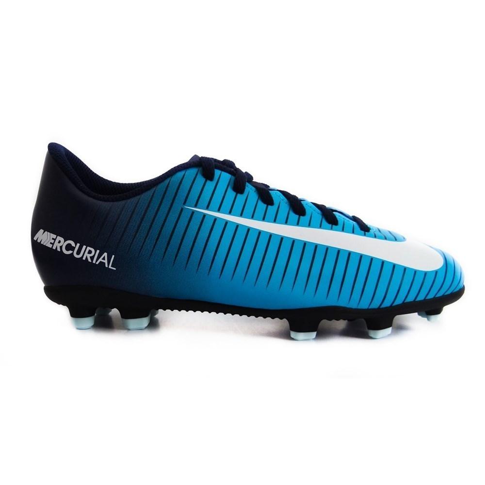 Nike Mercurial Mercurial Nike Vortex FG JR 831952404 azul calzado 747c12