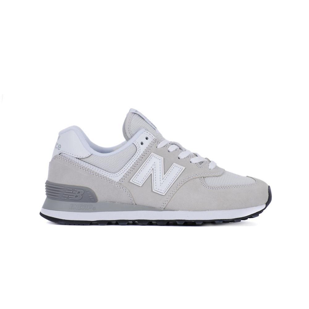 New Balance WL574EW WL574EW bianco scarpe basse
