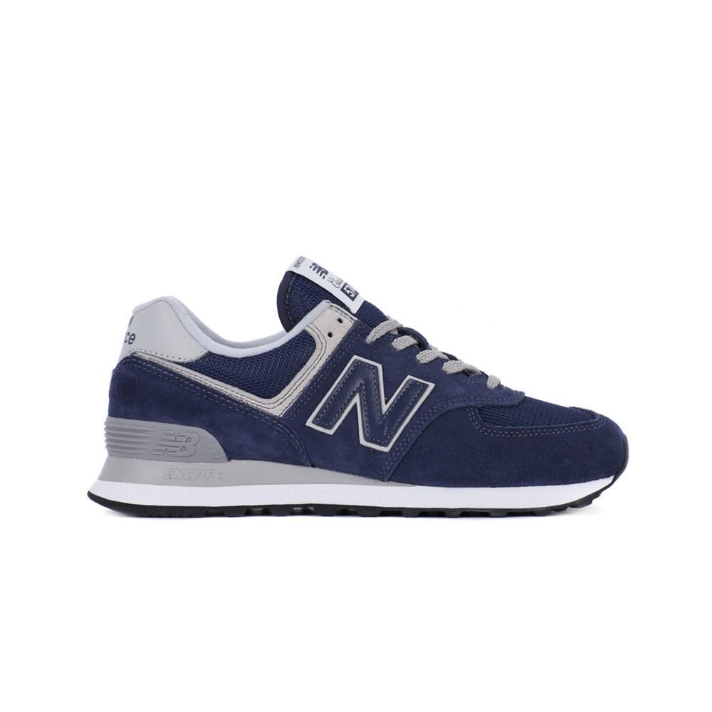 New Balance WL574EN WL574EN blu marino scarpe basse