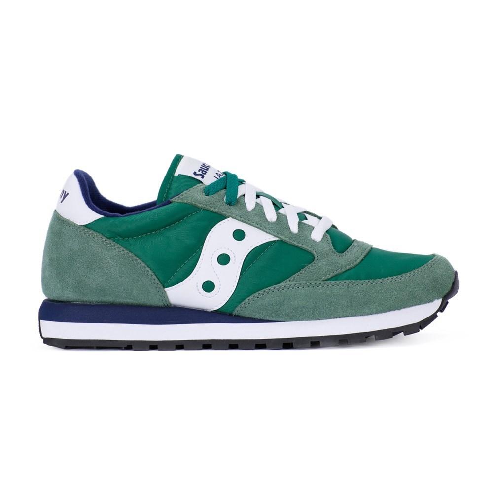 Saucony Jazz Green White 2044447 verde scarpe basse