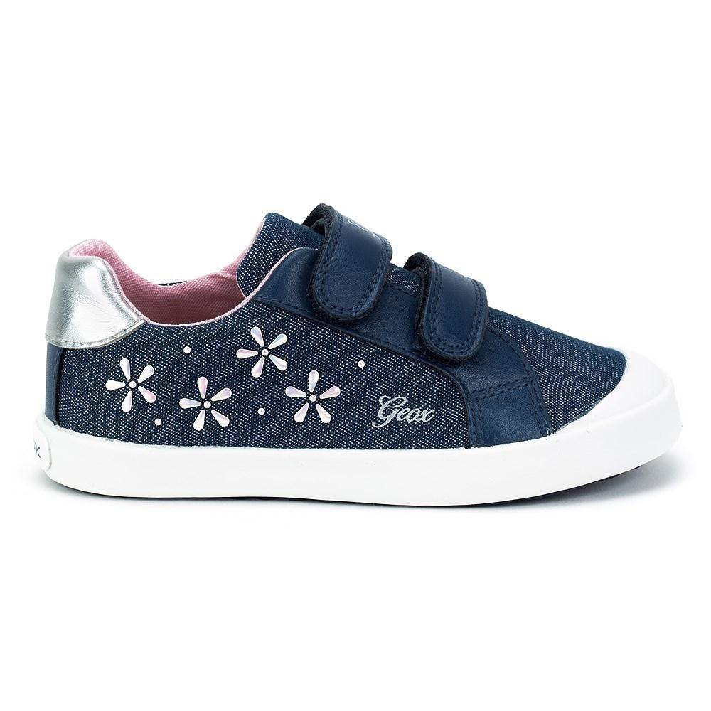 Geox Baby Kilwi Girl B82D5C0LGBCC4005 azzuro scarpe basse