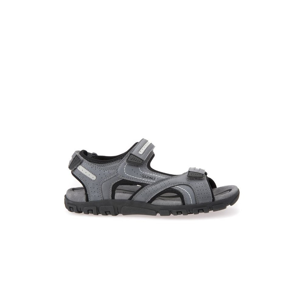Geox U Sandal Strada Stonelt Grey U8224D0BC50C9014 grigio sandali