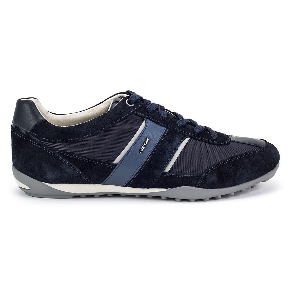 Geox Wells U82T5A02211C4002 blu marino scarpe basse
