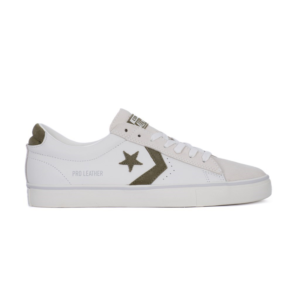 Converse Pro Leather Vulc OX 160927C bianco scarpe basse