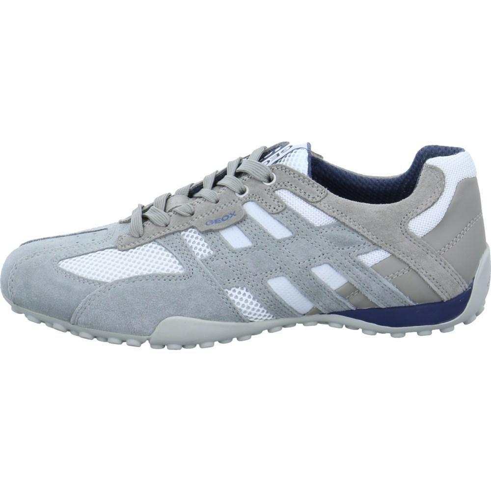 Geox Snake U4207K02214C0463 grigio scarpe basse