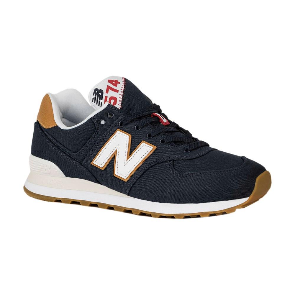 New Balance ML574YLC ML574YLC blu marino scarpe basse