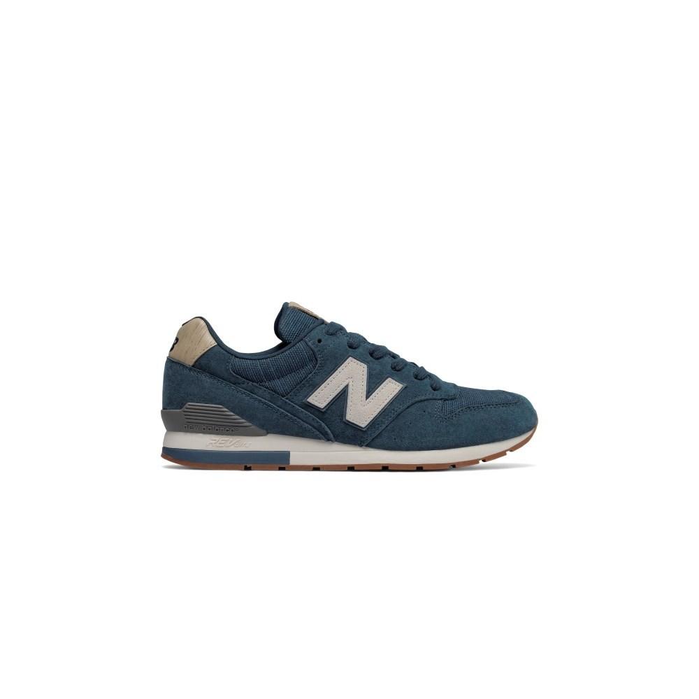 New Balance 996 MRL996PB blu marino scarpe basse